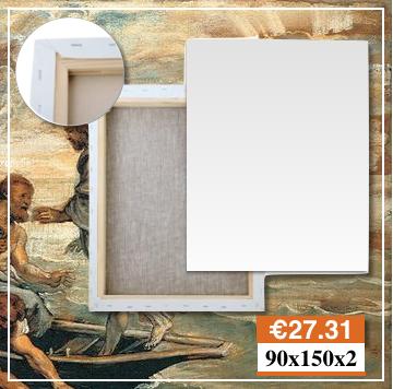 Produzione Tele Per Pittura Torino Misura 90X150