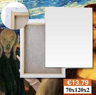 Tele Per Dipingere LecceMisure 70X120