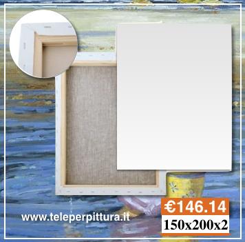 Tele per quadri prato tele per pittura prezzi for Tele quadri