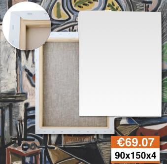 Tele Per Quadri Ingrosso Online L'Aquila 90x150 spessore 4cm