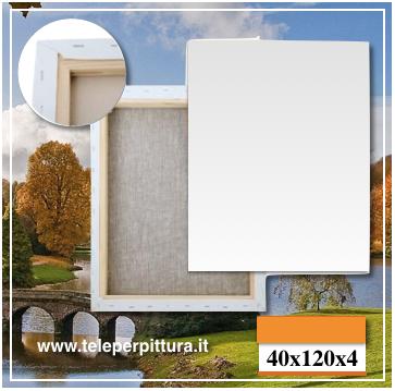 Tela Per Quadri Basilicata 40x120 spessore 4cm