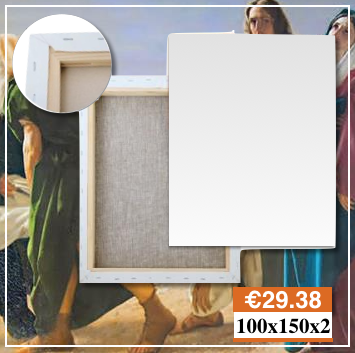 Produzione Tele Per Pittura Su Misura 100X150