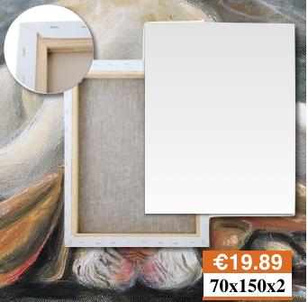 Tele Per Dipingere Bergamo Misure 70X150