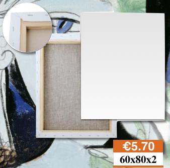 Tele Per Dipingere Milano Misura 60x80