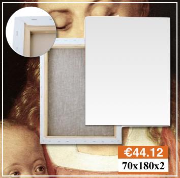 Tele e Telai Per Quadri a Carbonia-Iglesias Misura 70X180 Belle Arti