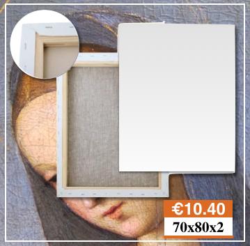 Tele e Telai Per Quadri a Medio Campidano Misura 70X80 Belle Arti