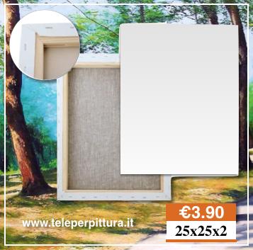 Tele per quadri terni tele per pittura prezzi tele per for Tele quadri