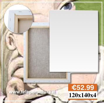 Ingrosso Tele Per Dipingere Prezzi 120X140 spessore 4 cm
