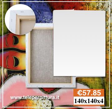 Ingrosso Tele Per Pittori 140X140 spessore 4cm