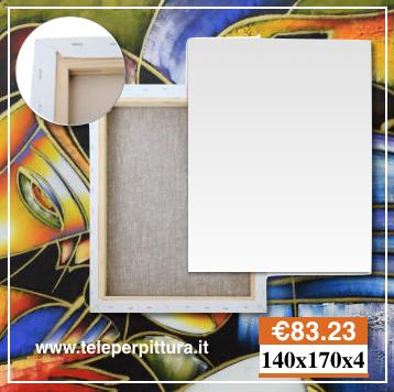Ingrosso Tele Per Pittori Misure Standard 140x170 spessore 4cm