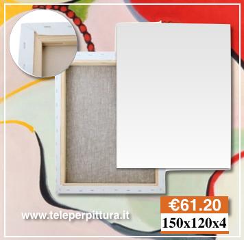 Online Tele per Pittura 150x120 spessore 4cm