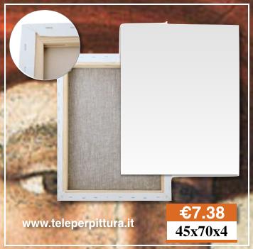 Tela Per Pittori Genova 45x70 spessore 4cm Negozio belle arti Genova