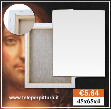 Tela Per Pittori Liguria 45x65 spessore 4cm