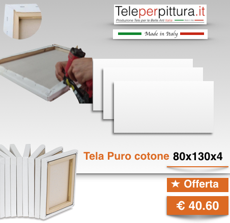 Tele Bianche Prezzi Trento 80x130 spessore 4cm