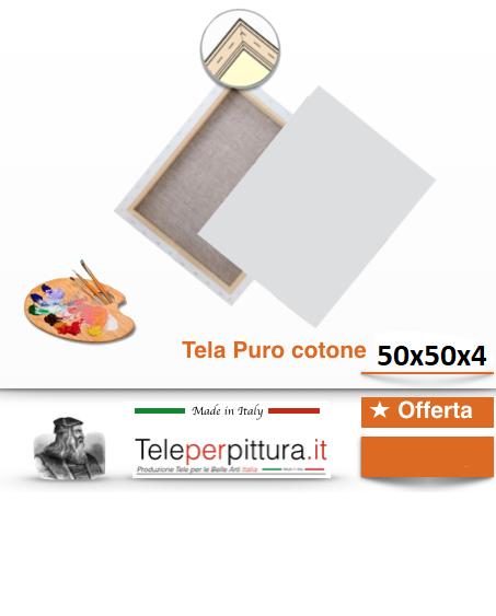 Tele Misure Per Pittori Como 50x50 spessore 4cm