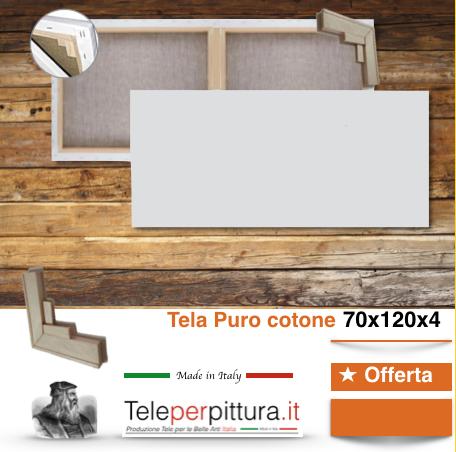 Tele Per Dipingere Misura Campobasso 70x120 spessore 4cm