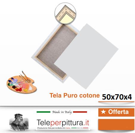 Tele Per Dipingere Misure Lodi 50x70 spessore 4cm