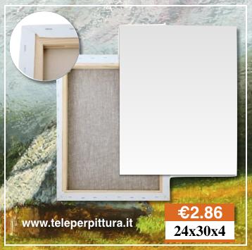 Tele Per Pittori 24x30