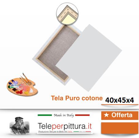 Tele Per Quadri Costi Pordenone 40x45 spessore 4cm