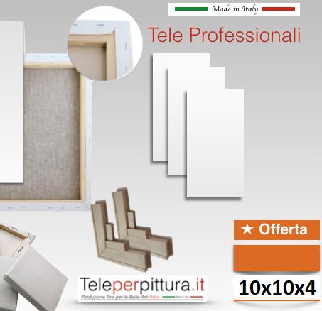 Tele Per Quadri Online Friuli Venezia Giulia 10x10 spessore 4cm