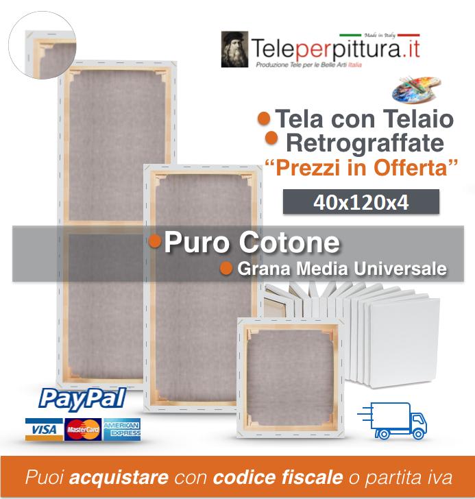 Tele Per Quadri Online Rimini 40x120 spessore 4cm