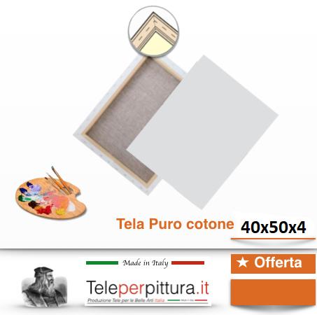 Tele Per Quadri Prezzi Trieste 40x50 spessore 4cm