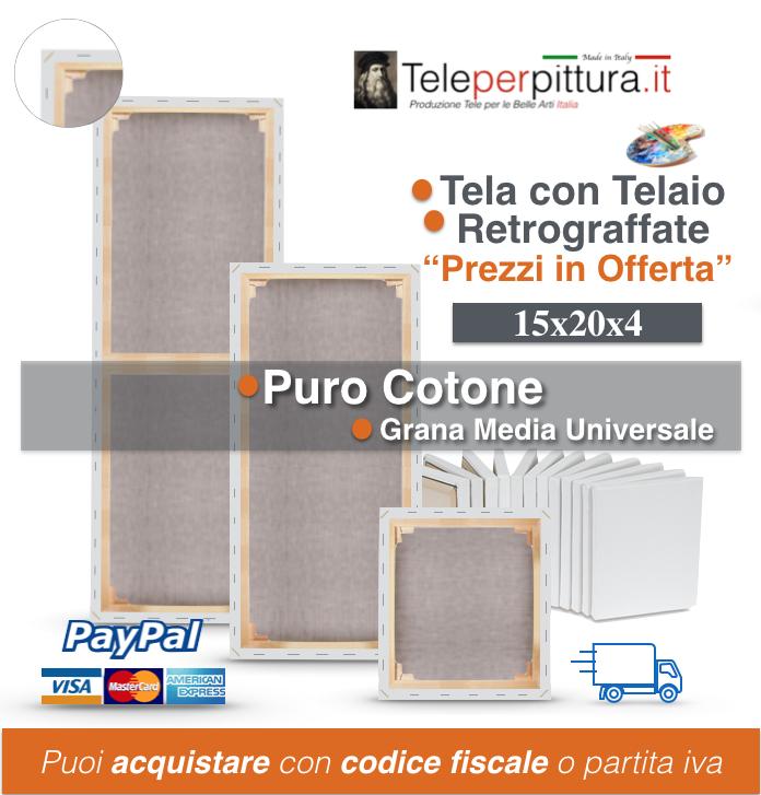 Tele Trentino Alto Adige Preventivi 15x20 spessore 4cm