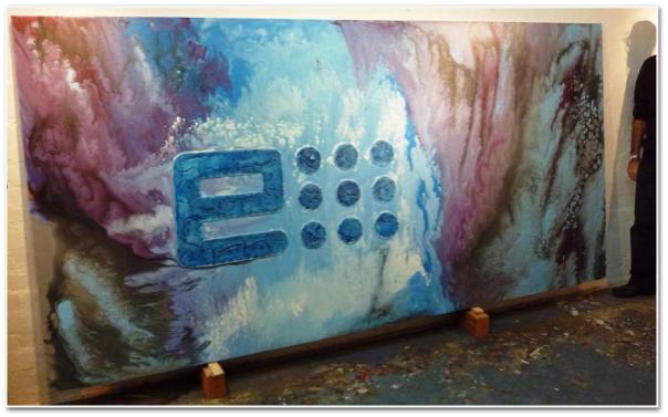 Tele Per Pittori Bianche Online Toscana 150x300 spessore 4cm
