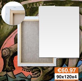 Tele Per Pittura Ingrosso Prezzi Rieti 90x120 spessore 4cm