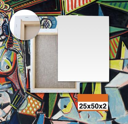 Tele Bianche Per Quadri Online 25x50