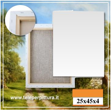 Ingrosso Tele Per Pittura 25x45 spessore 4cm
