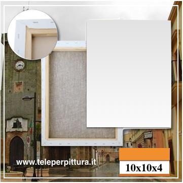 Ingrosso Tele Per Pittura Lecce 10x10 spessore 4cm