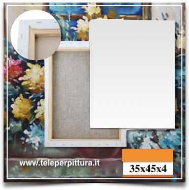 Ingrosso Tele Per Pittura Puglia 35x45 spessore 4cm