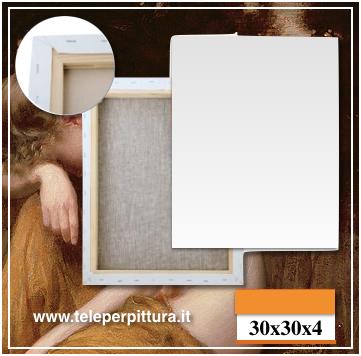 Online Tele Per Dipingere 30x30 spessore 4cm