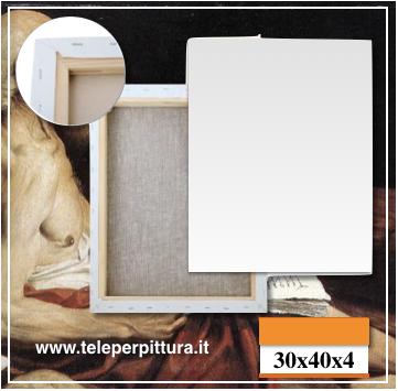 Online Tele Per Pittura 30x40 spessore 4cm