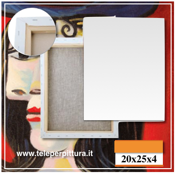 Produzione Tele Per Pittura Lecce 20x25 spessore 4cm