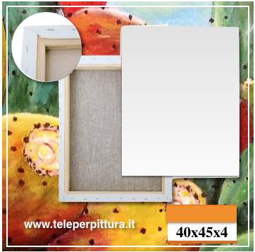 Tela Per Dipingere Calabria 40x45 spessore 4cm