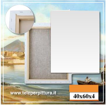 Tela Per Dipingere Campania 40x60 spessore 4cm
