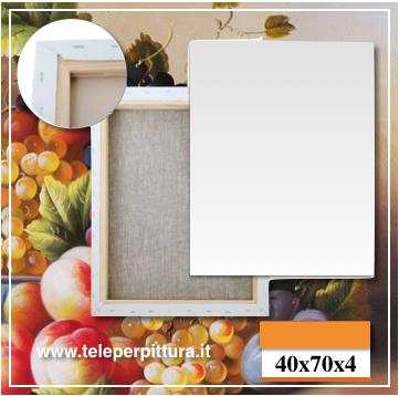 Tela Per Dipingere Emilia-Romagna 40x70 spessore 4cm
