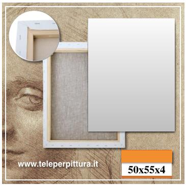 Tela Per Pittori Ancona 50x55 spessore 4cm