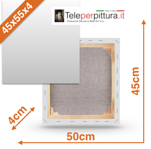 Tela Per Pittura Lazio 45x55 spessore 4cm