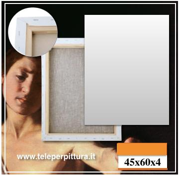 Tela Per Pittura Roma 45x60 spessore 4cm