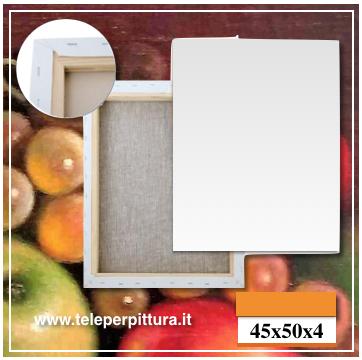 Tela Per Pittura Trieste 45x50 spessore 4cm