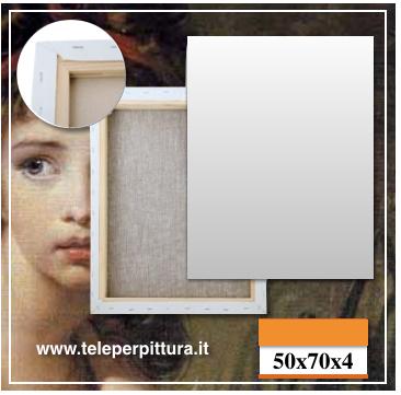Tela Per Quadri Campobasso 50x70 spessore 4cm