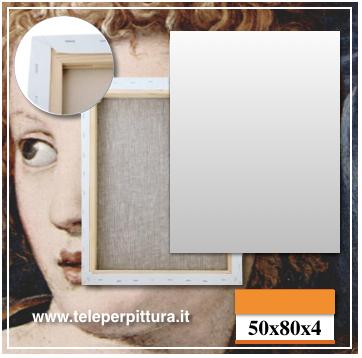 Tela Per Quadri Piemonte 50x80 spessore 4cm