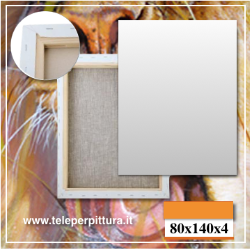 Tele Bianche per Pittori 80x140 spessore 4cm