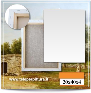 Tele Per Dipingere Lecce 20x40 spessore 4cm