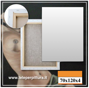 Tele Per Dipingere Trento 70x120 spessore 4cm