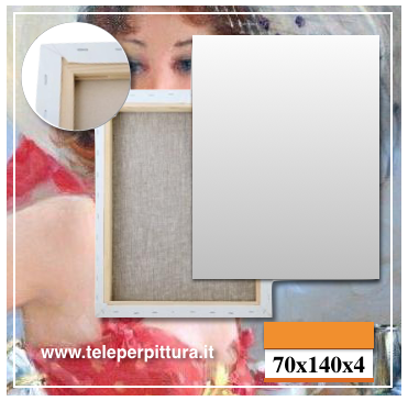 Tele Per Pittori Perugia 70x140 spessore 4cm