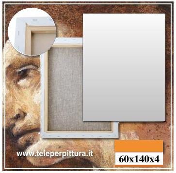 Tele Per Pittura Cagliari 60x140 spessore 4cm